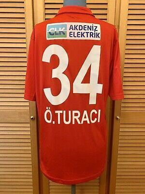 Maillot/Jersey/Shirt football Antalyaspor 2014-2015 home Turaci match worn image
