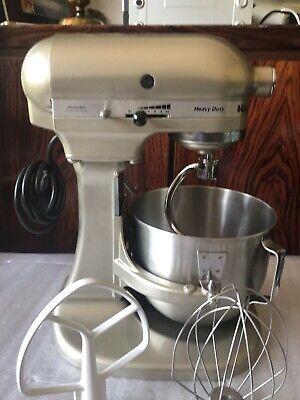 KitchenAid K5 Commercial Mixer Havey Duty Bordeax