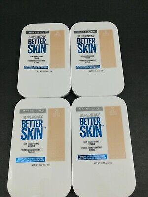 (4) Maybelline Superstay Better Skin Skin -Transforming Powder 25 - Nude
