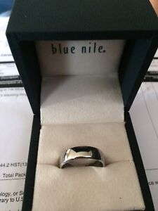 Men's size 10 cobalt wedding band