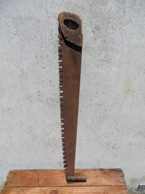 Vintage Old Rustic Cross Cut Saw