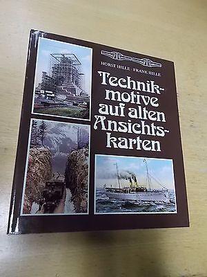 Technikmotive auf alten Ansichtskarten , Hille-Hille