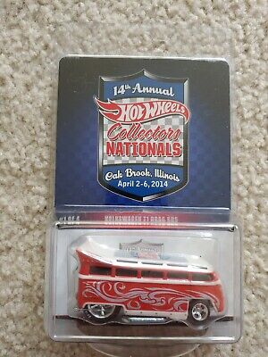 Hot Wheels 2014 Oak Brook 14th Collectors Nationals - VW T1 Drag Bus