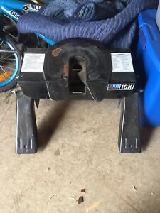 Pro series 16,000lbs 5th wheel hitch