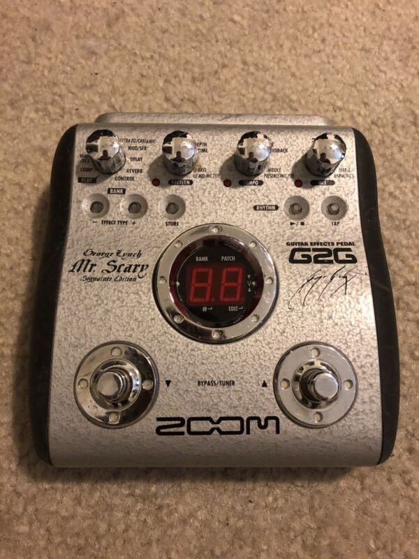 Zoom G2G George Lynch Signature Mr Scary Guitar Multi Effect Pedal Only