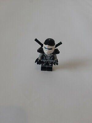 Black Lego Avengers Marvel Thor Iron Man Game Super Heroes Toy White Face