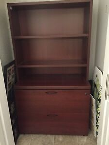 Cabinet with drawers and shelves