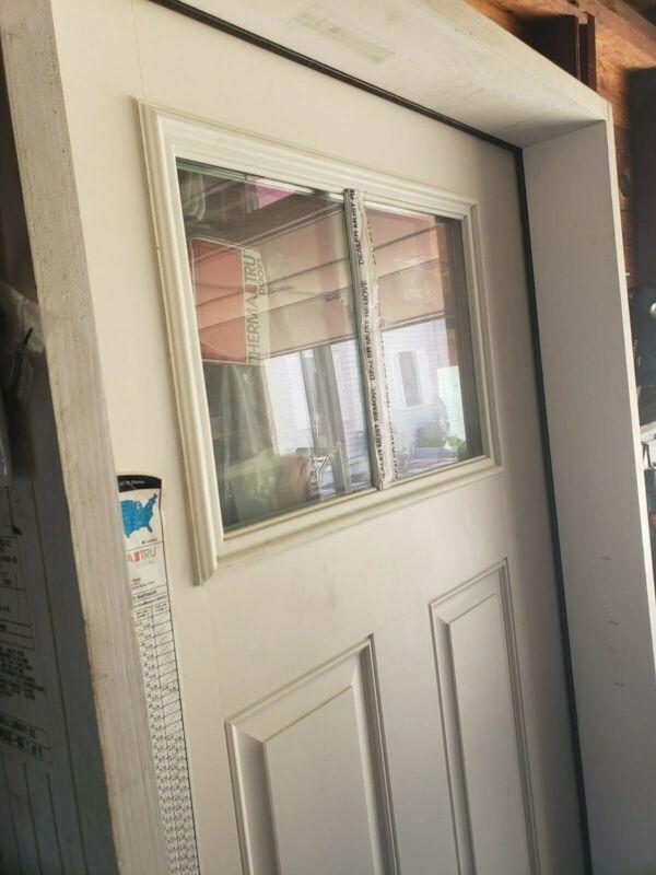 Therma Tru Fiberglass Door Right Inswing 3ft x 6ft 8 ($550, ignore other price