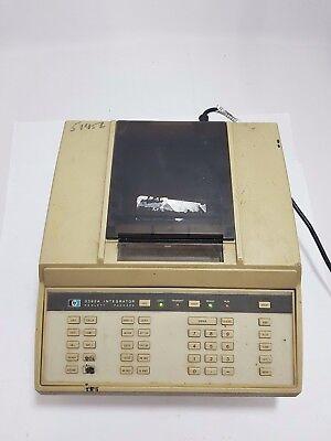 Vintage Hp 3392a Hplc Chromatograph Integrator Chart Recorder Plotter