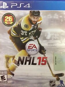NHL 15 on PS4