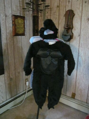 Gorilla Halloween Costume Kids Size 2 to 4