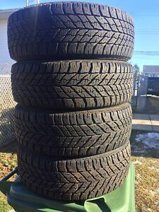 p225/55/17 inch Goodyear Winter Tires / GOOD TREAD /GOOD DEAL