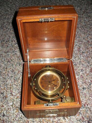 "Hamilton Model 22 Chronometer Watch, N137 Lock & Key Box, ""Very Low S.N.""  L@@K"