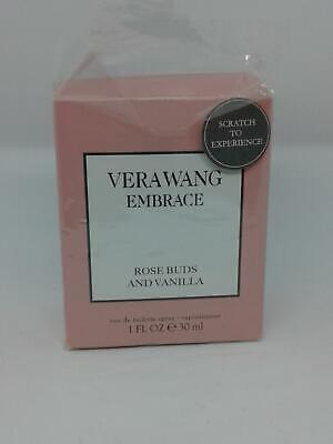 Vera Wang Embrace Rose Buds And Vanilla Women's EDT Spray 1oz/30ml