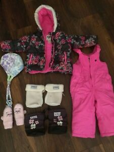 18 month snow gear lot