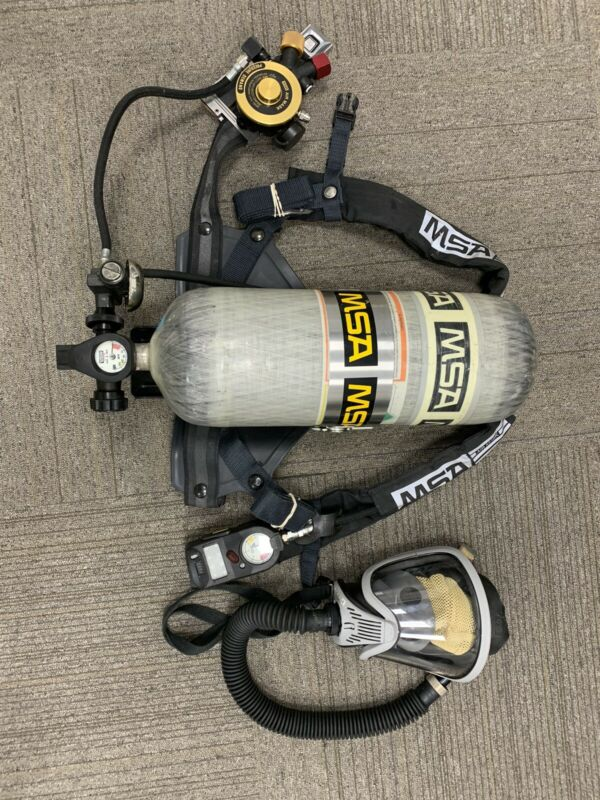 MSA Ultra-Lite II Complete SCBA (SCBA Has not been used)