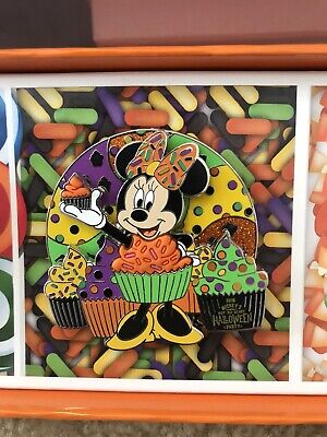 Disney Mickey's Not So Scary HALLOWEEN Party 2018 LE MINNIE MOUSE Cupcake Pin