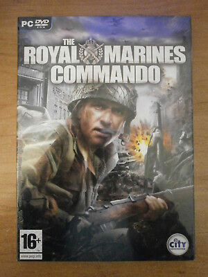 THE ROYAL MARINES COMMANDO - PC DVD ROM *NEW* *SEALED* *BEST OFFER*