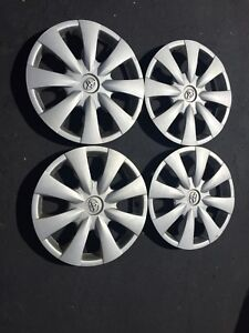 Set of 4  genuine Toyota wheel covers from Corolla