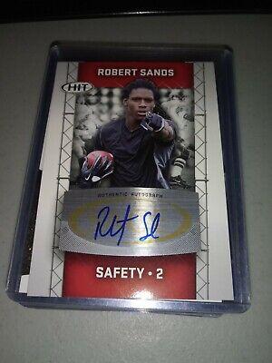 ROBERT SANDS 2011 SAGE HIT AUTOGRAPH (Sands Stores)