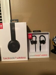 Brand new Beats Solo and Power Beats