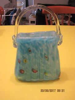 Decorative Glass Handbag