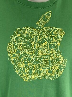 Apple Computer Inc - graphic print Logo crew neck t-shirt