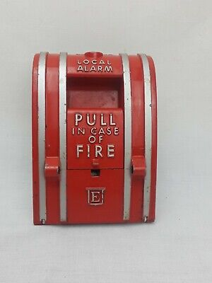 Est Edwards Signaling 270-spo Fire Alarm Pull Station