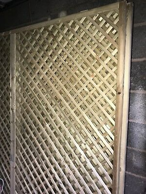 6ft By 6ft Lattice Fencing