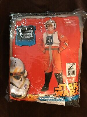 Boys Pilot Costume (Star Wars Classic Boys X-Wing Fighter Pilot Costume. Size: Large)