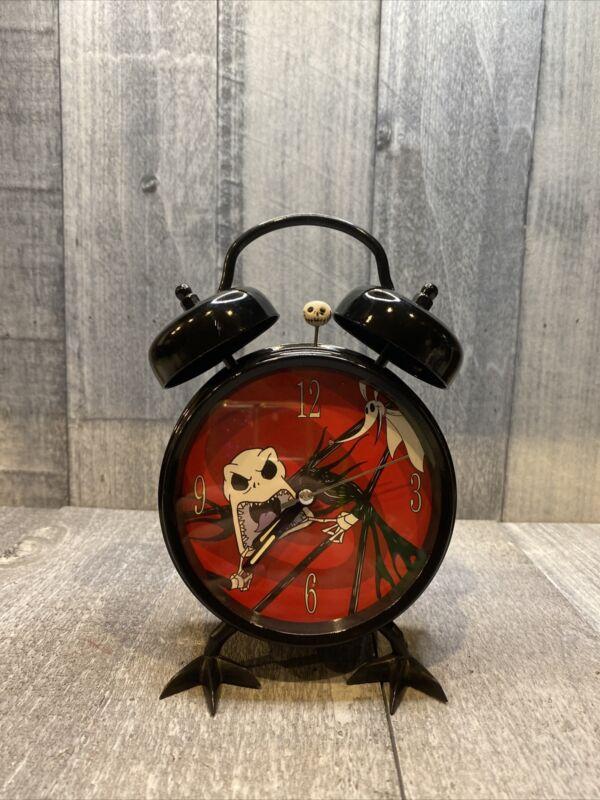 Tim Burton Nightmare Before Christmas Rare Alarm Clock- Works