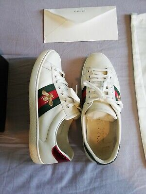 Gucci Ace Sneakers White size 7 uk (more like size 8 uk)