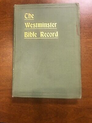 Used, The Westminister Bible Record By G Campbell Morgan for sale  Semmes