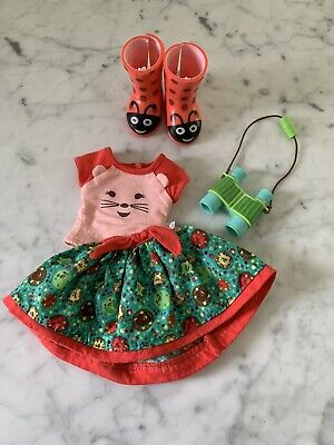 American girl Wellie Wisher Willa's Meet Outfit And Boots + Extra Perfect