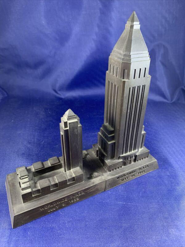 Rare Dupiform Casting Co. Worldwide Plaza 1988 Souvenir Building
