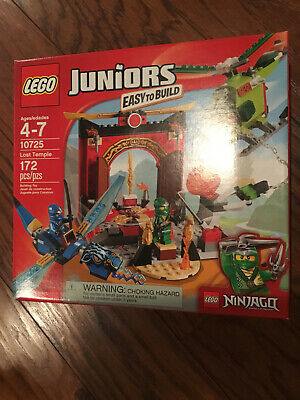 Lego 10725 Juniors Ninjago Lost Temple Easy to Build