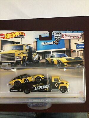 Hot Wheels Legends Tour Team Transport Custom Corvette Stingray Coupe Walmart