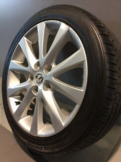 "MAZDA 6 SPORTS LUXURY MAZDA CX5 17"" GENUINE ALLOY WHEELS AND TYRES  Carramar Fairfield Area Preview"