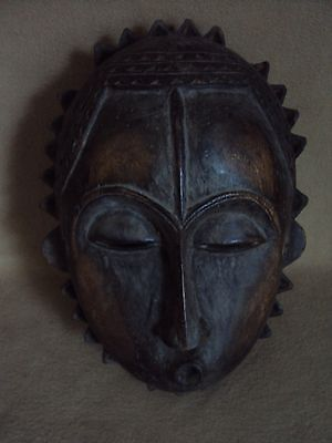 SALE - WAS $195  YOHURE MASK African Carving Statue!!