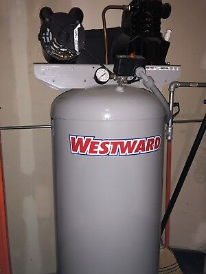 Westward Vertical Air Compressor Model 4me96 60 Gallon 3.2hp Never Used