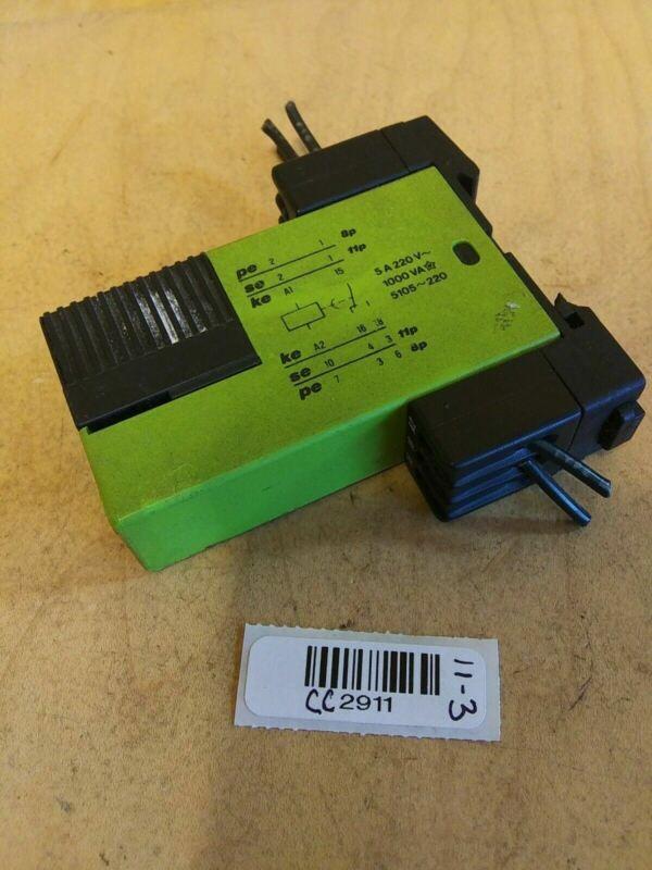 Tele 5105-220 Time Relay