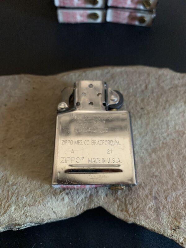 Zippo Inside Guts Silver Chrome Only Inside Insert For Zippo  Lighter