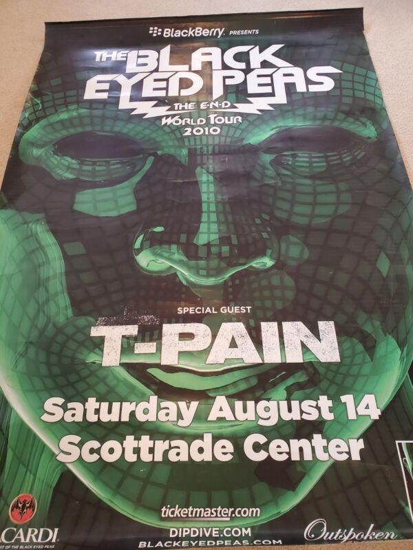 Black Eyes Peas Concert Poster