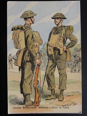 Military: Armee Britannique, Infanterie Tenue de Campagne - M Toussaint c1940