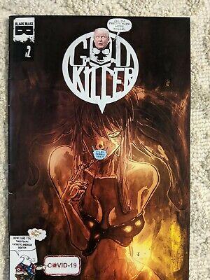 GOD Killer #2, mixed media, original art comic book - FREE SHIPPING 👌