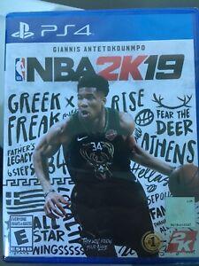 NBA 2K19 PS4 Sealed