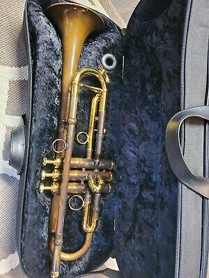 Schagerl Algaea Trumpet Vintage Matt and Gold