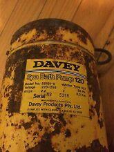 Davey spa bath pump 0.3Kw Hackham West Morphett Vale Area Preview