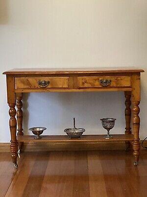 Huon Pine Hall Table