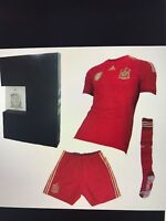 Spain kit for men's soccer  City of Montréal Greater Montréal Preview
